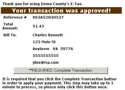 Virginia Property Tax Car >> Paypersonalpropertytax